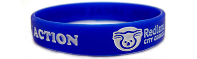 Buy Infilled Silicone Wristbands